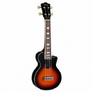 Mahalo Les Paul Style Ukulele in Vintage Sunburst Inc Bag